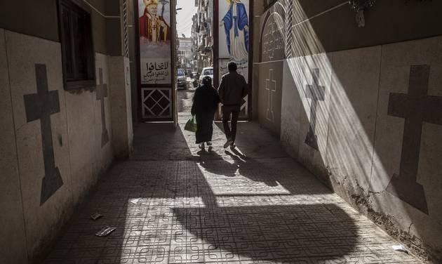 Mideast Egypt Christians